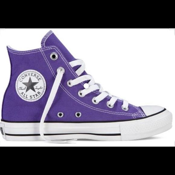 Converse Shoes | Purple Converse | Poshmark